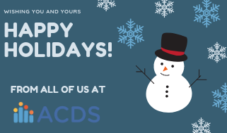 Happy Holidays from ACDS